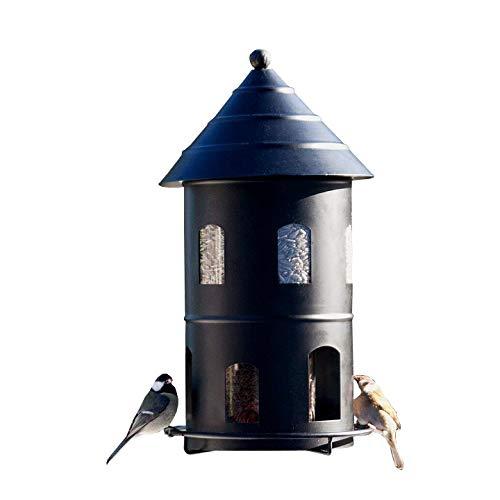 Wildlife Garden Vogelhaus Set FUTTERSTATION + PFAHL schwarz Original Futterhaus