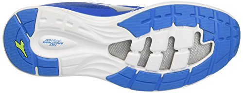 Diadora Nj-404-3, Entraînement de course homme Multicolore - Multicolore (C3571 Blue Mirage/Blu Olandese)