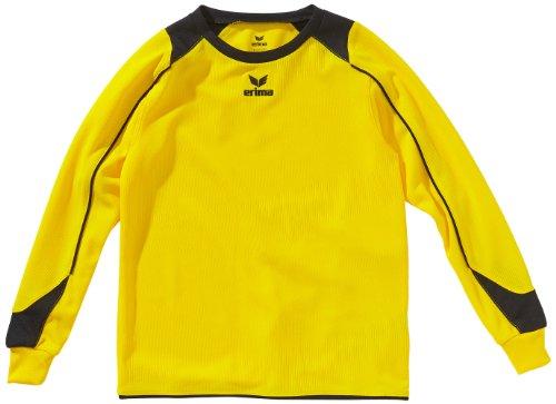 erima Kinder Trikot Santiago langarm, gelb/schwarz, 128, 314123