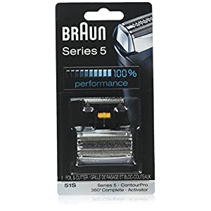 Braun 51S Foil and Cutter Replacement for Series 5 (Older Generation), 8000 Series