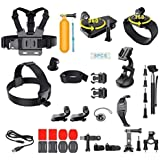 MagiDeal 36 In 1 Accessories Kit For GoPro Hero 5/4//3/2/1 Action Cameras - 36 Attachments