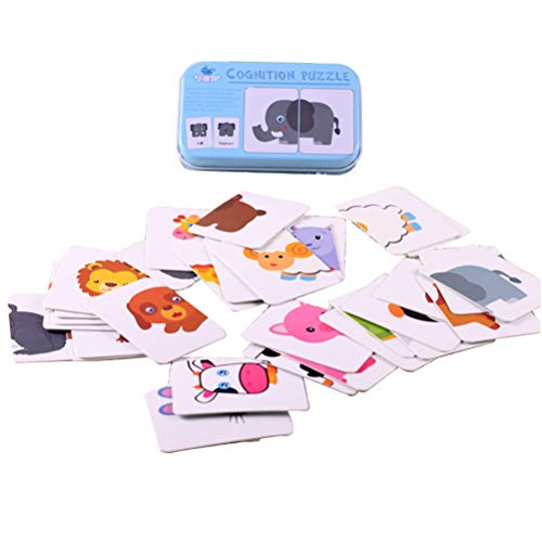 Faviye Alphabetisierungskarten für Babys Rripstop Flash-Karte mit Metallbox für Kinder Englisch Learning C
