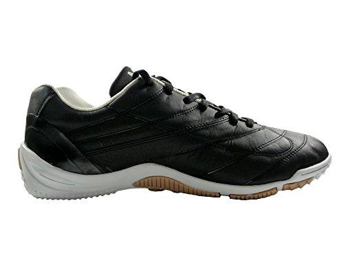 AGLA , Herren Futsalschuhe Weiß wei� Schwarz