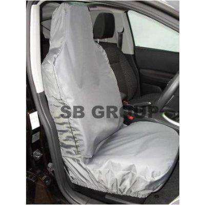 Citroen nemo-coprisedile impermeabile per furgone, colore: grigio, 2 ante unicamente