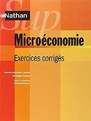 Microéconomie - exercices corrigés