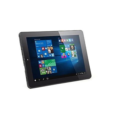 CSL Panther Tab 9 inkl. Windows 10 Home - 8.9 Zoll (22,6cm) Tablet, Intel QuadCore 4x 1.3GHz, 2GB RAM, 32GB SSD
