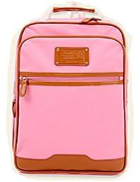 Fashion Plaza mediados marca nuevo estilo simple niños bolso de escuela Mochila escolar, 39x 29x 10cm Boy y niñas en azul y rosa c5018