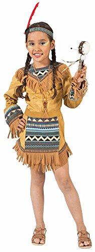 Indianerin Cherokee Kostüm für Mädchen Gr. - Kostüm Lendenschurz Herren