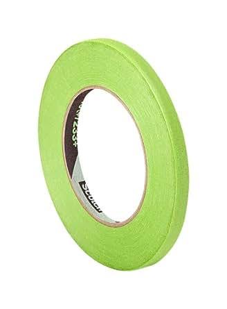 Tapecase – Nastro adesivo ad alta prestazione 401+0,95 cm, convertito da rotolo 3 m 7401+403+; 0,95 cm x 54 m, carta pesta, colore verde
