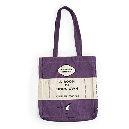 informazioni per de418 9ceae Penguin Book Bag - A Room of One's Own: Room of One's Own (Purple)