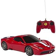 Rastar - Ferrari 458 Speciale A, coche teledirigido, escala 1:24, color rojo (ColorBaby 75997)