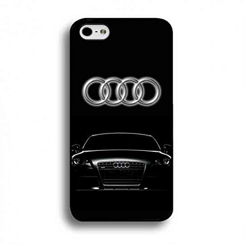 Charming Audi Logo Custodia Cover,Audi Logo Iphone 6 Plus/6S Plus Case,Audi Custodia Cover Black Hard Plastic Case Cover For Iphone 6 Plus/6S Plus