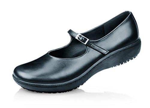 Shoes For Crews , Sandales style Mary Janes pour femme Noir Noir
