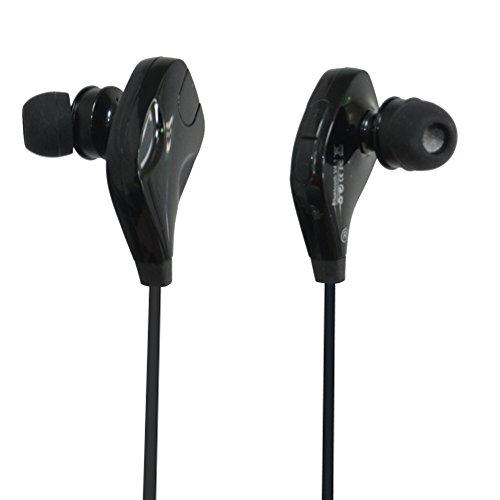 Cuffie Bluetooth, Italica Bluetooth 4.2Cuffie Stereo Sport auricolari con microfono auricolari chiamate per custodia per telefono Android IOS