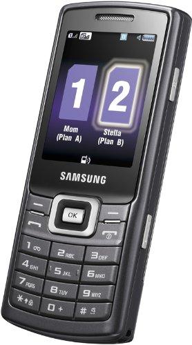 Samsung C5212 Handy (Dual SIM, Kamera, Video, MP3-Player, Bluetooth) noble-black Samsung Video-mp3-player