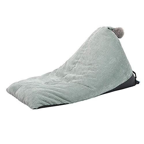 NIUYG Bean bag chair Sitzsack Stühle Adult Lazy Sofa Kids Abnehmbare Und Hitzebeständige Antifouling Family Lounge Geeignet Für Spiele AAA (Color : Green) -