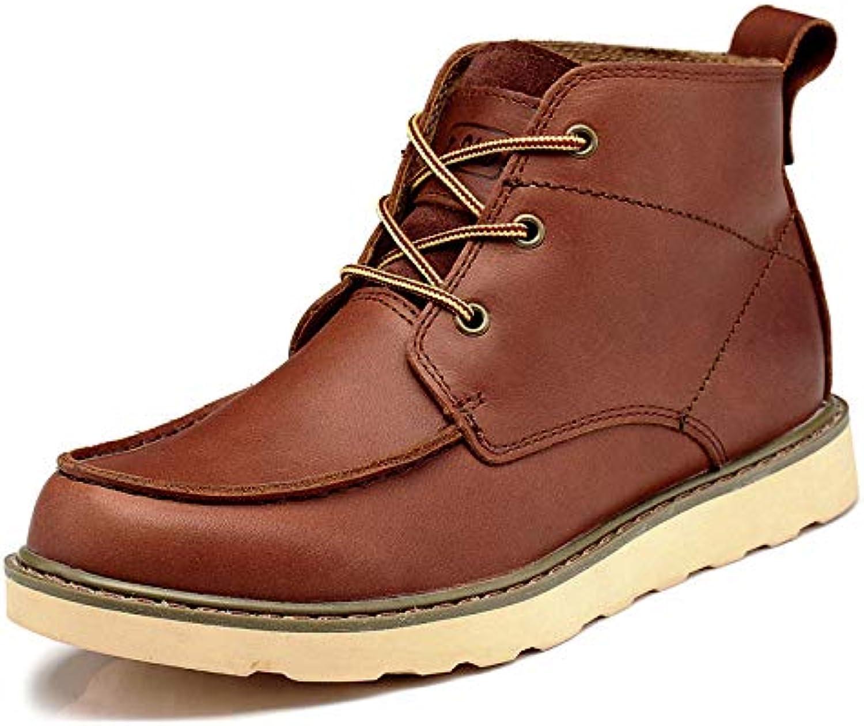 GZZ Stivali da Uomo Scarpe Martin Stivali Stivali Stivali in Pelle da Autunno E da Inverno per Utensili da Esterno Scarpe con...   Acquisto  a3f3dc
