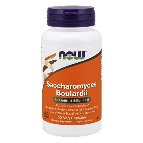 Now Foods Saccharomyces Boulardii 60 vegane Kapseln, glutenfrei