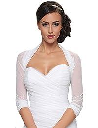 Damen Braut Bolero Brautkleid Chiffon/Stretch - B70