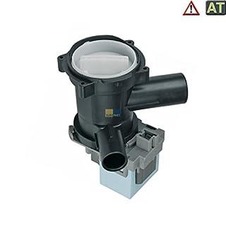 VIOKS Laugenpumpe Pumpe Abwasserpumpe Waschmaschine passend wie 00144978 144978 Askoll M50 M54 M215 M50.1 M54.1