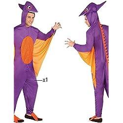 Atosa 26620 - dinosaurios, los hombres traje, tamaño 50/52, púrpura / naranja