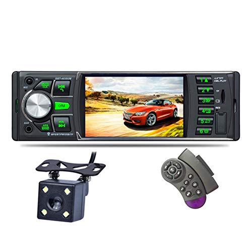Autoradio Mit Bluetooth 4,0-Zoll-Touchscreen 1 Din-Auto-Video-Player Mp5