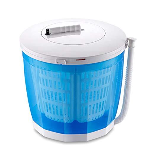 Yeying123 Tragbare Waschmaschine im Freien Camping, manuelle Mini-Waschmaschine mit automatischen Ablenkung Waschmaschinen 2.5Kg,No Power erforderlich,Blue,Ordinary