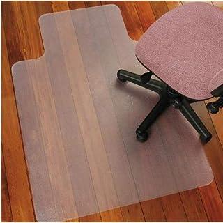 ATR Harte Boden Bürostuhl Matten für Rolling Chair, Teppichboden Schutz, rechteckig mit Lippe, Glatte Back Desk Matte, Anti-Statik, BPA frei, 36 '' x 48 '' (90 x 120 cm, Smooth Back)