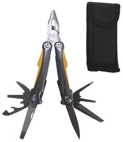 Outils de jardin avec pince et plusieurs couteaux