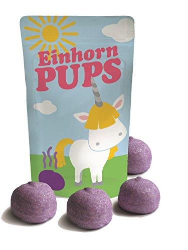 Preisvergleich Produktbild Welt der Einhörner Marshmellows,  lecker und ein echter Hingucker (Einhorn Pups groß 40 g)