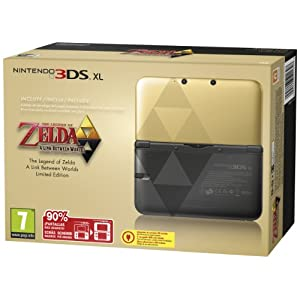 Nintendo 3DS XL Gold inkl. Zelda: A Link Between