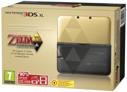 3DS XL - Console Zelda: A Link Between Worlds - Limited Edition