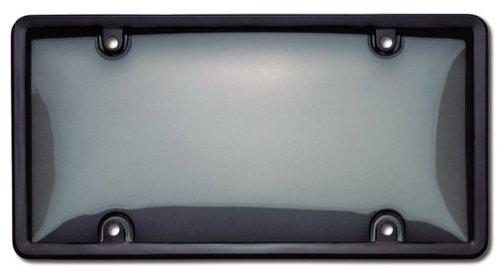 Cruiser Zubehör 60520Neuheit/License Plate Combo Bubble Shield und Rahmen, Rauch und Schwarz -