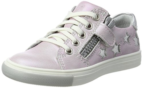 Mädchen Fedora Low-Top, Pink (Fuchsia/Silver), 32 EU (Mädchen Fedora)