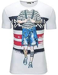 Antony Morato T-shirt homme Impression Ethnique Slim Fit Haut
