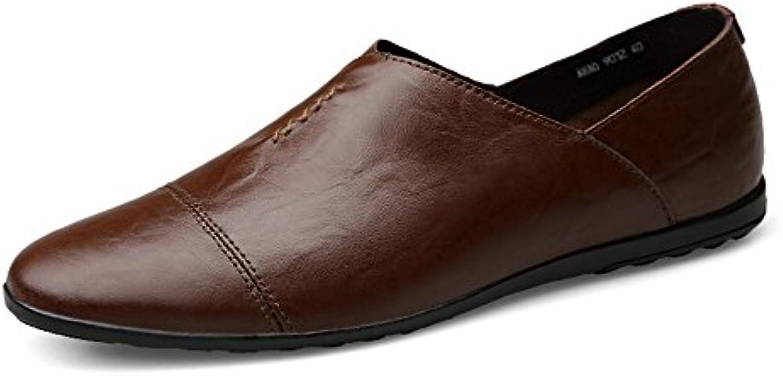 Yajie-scarpe, 2018 Mocassini da Uomo Uomo Uomo Mocassini in Pelle PU da Uomo, con Tacco Piatto e Stile di Guida (Coloree  ... | Fornitura sufficiente  | Uomini/Donne Scarpa  0e9da1
