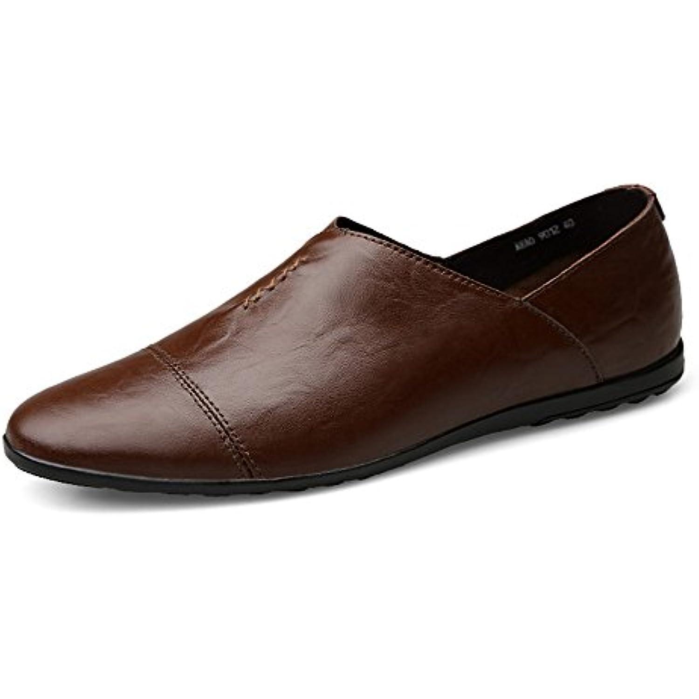 Mocassins Hommes Cuir PU Doublure Talon Plat Slip-on Minimaliste Style Minimaliste Slip-on Loafer xiazhi-Mocasssins Color : - B07GNN5J5Q - 8887c8