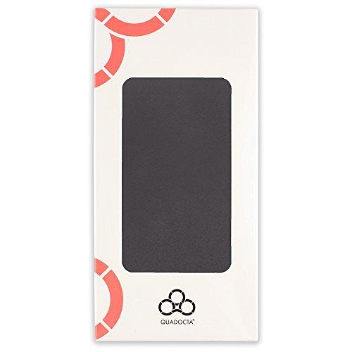 """iPhone 8 Plus / iPhone 7 Plus (5,5"""") Ultra Slim Case - Schutzhülle - """"Gracili"""" in Schwarz - Ultra dünne Hülle mit Kameraschutz- Leicht transparentes Case mit Rundumschutz - Extrem dünnes Etui als prem Schwarz"""