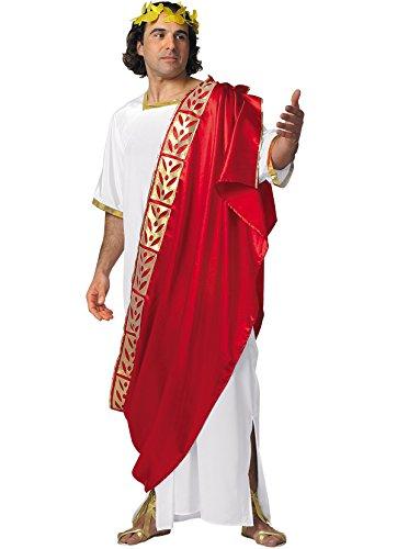 Senator Erwachsene Für Römischer Kostüm - Unbekannt Kostüm Römer - Antike antikes Rom Senator Cäsar Herrscher heiliges römisches Reich