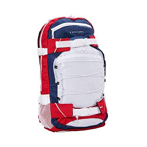 FORVERT Ice Louis Unisex Backpack sportlich-lässiger Daypack,Rucksack mit durchdachter Ausstattung in auffälligen Kontrastfarben,Multicolour XVIII,one Size - Rucksack Ice
