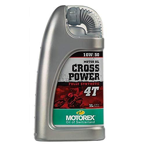 Olio MOTOREX Sintetico Cross Power 10w50 4 T