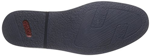 Rieker - 13451, Stivaletti Uomo Marrone (Brandy/royal/navy)