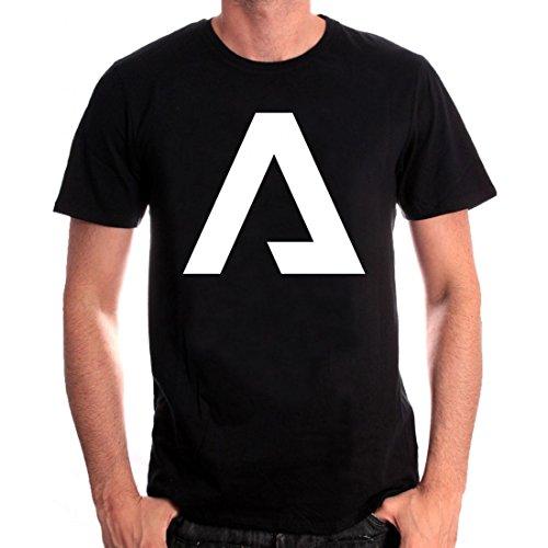 Cotton Division Herren T-Shirt Noir Homme