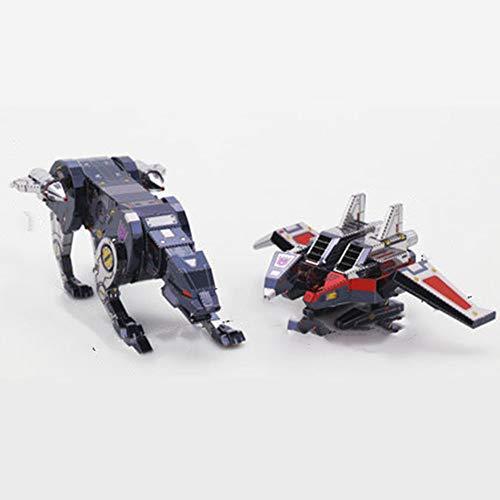 ielzeug G1 Sonic Tape Tribal Transformers Hoch Schwieriges Puzzle 3D Metallmontage Modell Rot + Werkzeug B Einheitsgröße ()