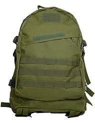 Bolsas de Camping resistente al agua MOLLE mochila militares 3P Tad Asalto Mochila Táctico Bolsa de viaje para los hombres, verde