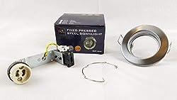 10 X Downlight GU10 240V Chrome Light Fitting