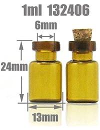 Kerry Anagela clubking corcho de botella de vidrio Vial 1 ml de aceite de alta borosilicato