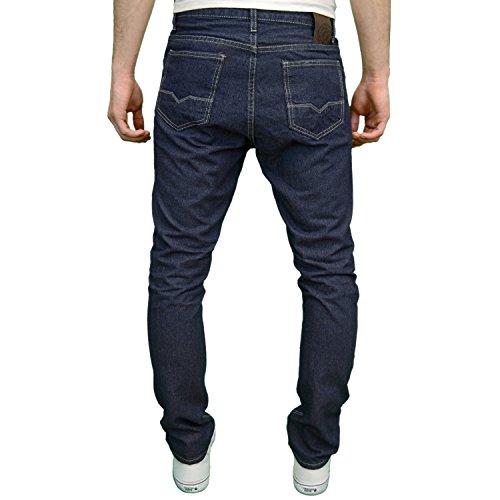 SoulStar Herren Jeanshose Blau