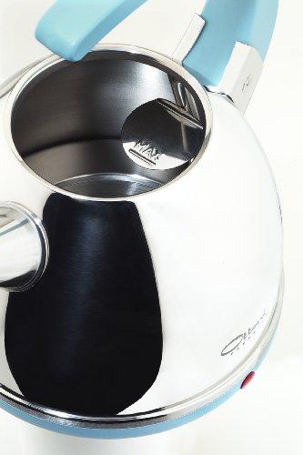 """Ottoni Fabbrica Italian Top Kettle """"Alice Azzurro"""" 2400W 1,7 L"""