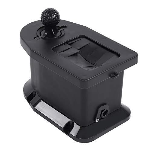 VIFERR Golf Club Ball-Waschmaschine, Hartplastik Schwarz Tragbare Golf Club Manual Filter Teile Zubehör für Golf Cart, mit der Notwendigen Hardware für die Installation